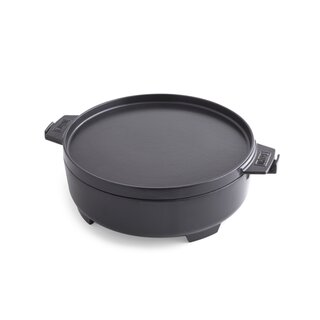 2in1 Dutch Oven & Pfanne - Gourmet BBQ System